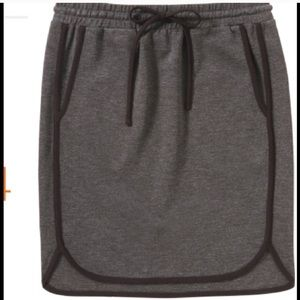 Joe Fresh Skirts - Piped Varsity Comfy Gray Skirt